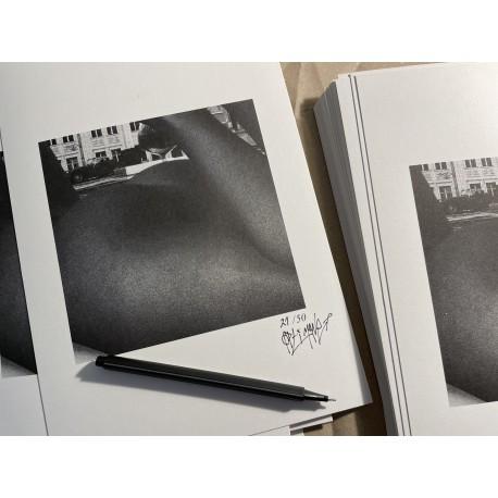 """Ich würde""-Cover Art Print"
